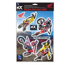 2018 Ken Roczen Team Honda HRC Wall Graphics Supercross Motocross Vinyl Stickers