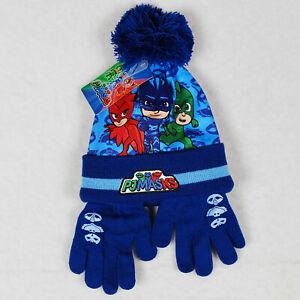 PJ Masks Hat and Gloves Set ONE SIZE