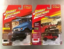 JOHNNY LIGHTNING 1980 TOYOTA LAND CRUISER (LOT OF 2) COLORS HOBBY EXCLUSIVE T12.