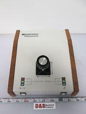 #Matrix Videometrix 5500006-509 3-Axis Joystick w/Speed Settings D-Sub 25-Pin
