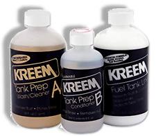 KREEM Fuel Gas Tank Liner for Suzuki Motorcycles Stops Rust 3-Step Sealer NEW