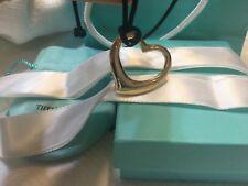 Tiffany&co. 18k solid yellow extra large Elsa peretti heart pendant