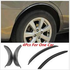 Car Truck 4 Pcs Black Fender Flares Anti-scratch Wheel Eyebrow Protector