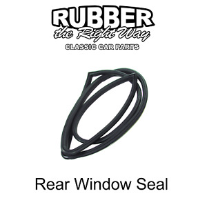 1963 1964 1965 Ford Falcon Mercury Comet Rear Windshield Seal - 2 DR HT