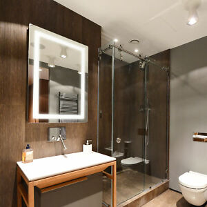 "Dyconn Faucet Swan Wall Mounted Backlit Bathroom LED Mirror (30""W x 36""H)"