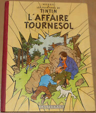 TINTIN / L'affaire Tournesol /  EO B20 1956 / BE+
