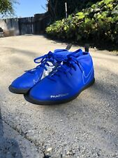 Soccer/Football Indoor Nike Phantom Vsn Club Shoes AO3273-400 Size 3.5 Youth