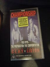 * Brand New And In Plastic - The Championship - Cassius Clay V Sonny Liston *