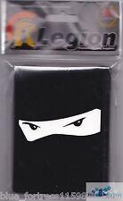 NINJA EYES BLACK LEGION DECK PROTECTORS CARD SLEEVES for MTG Pokemon