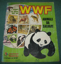 "Album "" WWF "" Animali Da Salvare Figurine Panini Anno 1985"