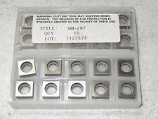 6 pcs RMC Tooling SM-297 Carbide Shim Insert Seats Square Turning Tool Holder