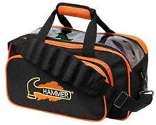 Hammer Black/Orange 2 Ball Tote Bowling Bag