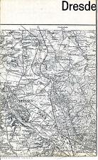 Meißen Coswig baßlitz 1924 parte scheda/LN. NIEDERAU Weinböhla kötzschenbroda Böhla