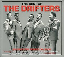 THE BEST OF THE DRIFTERS - 3 CD BOX SET - UP ON THE ROOF, DANCE WITH ME & MORE