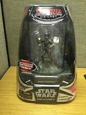 Hasbro Star Wars Limited Ed Vintage Finish Titanium Die Cast Sandtrooper Figure
