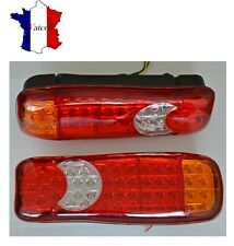 PAIRE LED 12V FEUX ARRIERES POUR IVECO SCANIA DAF MAN CAMION REMORQUE FOURGON