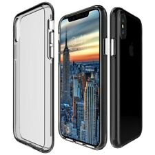 360°Full Body Shockproof Front+Back Clear Soft TPU Case Cover For iPhone Samsung