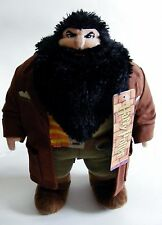 """Harry Potter - Rubeus Hagrid Soft Plush 10"""" Toy WITH TAG by Trudi Rare"""