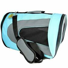 New listing Pet Magasin Airline Approved Cat Carrier - Large (18'' x 11'' x 10'') Blue