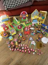 Huge Peppa Pig Toy Bundle Playsets Figures Look