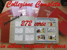 COLLEZIONE LAVAZZA COMPLETA: TUTTE LE 272 SERIE IN ALBUM ORIGINALE D'EPOCA LOTTO