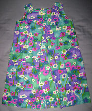 Vintage 60's Liberty House Young Hawaii Girls' Dress size 10-12