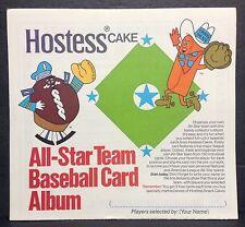 1976 Hostess All-Star Team Baseball Card Album