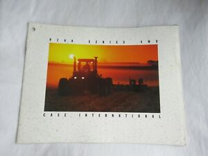 CASEIH Case International 9210 9230 9250 9280 9200 series 4WD tractor brochure