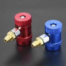 2X NEW High Low Side R1234YF A/C Air Conditioning Quick Coupler Connector Adapte
