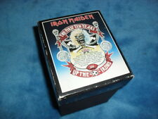 IRON MAIDEN -THE FIRST TEN YEARS- AMAZING 1990 10 CD MASSIVE BOX SET ENGLAND !!