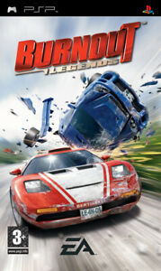 Burnout Legends  PSP Game