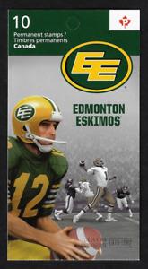Canada -Booklet Pane of 10 -100th Grey Cup Game: Edmonton Eskimos #2570a (BK501)
