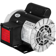 1HP Air Compressor Electric Motor 3450RPM 115/230V 5/8''Keyed Shaft Single Phase