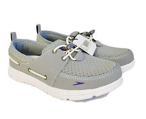 Speedo Women's Port Lightweight Breathable Water Boat Shoe New W/O Box - Size 6