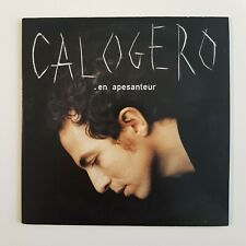 CALOGERO ♦ CD PROMO ♦ EN APESANTEUR