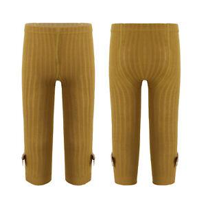 Infant Baby Girls Knitting Leggings Winter Casual Pants Trouser Elastic Bottoms