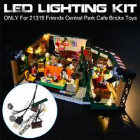 LED Light Lighting Kit ONLY For LEGO 21319 Friends Central Park Cafe Bricks