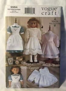 "Vogue Sewing Pattern UNCUT Teresa Layman 998418"" Old Fashioned Dresses"