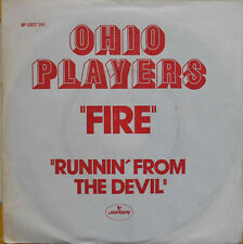"OHIO PLAYERS FIRE 7"" French PROMO 1974  EX"