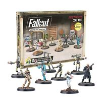 Fallout Wasteland Warfare Miniatures Institute Core Box Brand New & Sealed