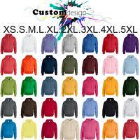 Hoodie Heavy Blend Blank Plain Basic Hooded Sweat Sweatshirt Sweater Men XS-5XL