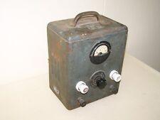 altes DDR Batterieladegerät  Elektrik 12 Volt