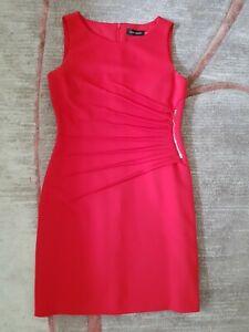 Ivanka Trump Red Dress Size US 10