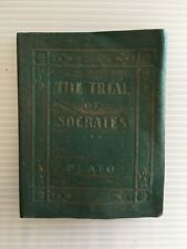 """LITTLE LEATHER LIBRARY """"THE TRIAL OF SOCRATES"""" by PLATO"""