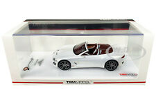 BENTLEY EXP 12 SPEED 6E CABRIOLET PEARL WHITE 1/43 MODEL CAR BY TSM 430283
