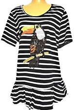 TS Top Taking Shape Virtu Plus Sz XXS / 12 Toucan Top 100 Cotton Chic Tee