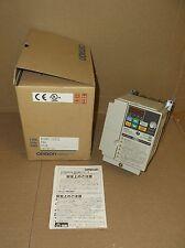 3G3MV-C2022 Omron NEW In Box 3HP 3PH 230VAC 11A Vector VFD Inverter 3G3MVC2202