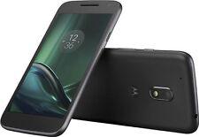 New Verizon Wireless Prepaid Moto G4 Play 4G LTE 16GB Memory Smartphone Black