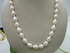 White Bizarre Pearl Necklace South Sea 11-13mm 14k