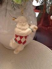 Lenox Golfing Santa Ornament, Made In 2000, Great